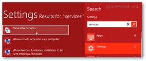 windows 8 services snap in