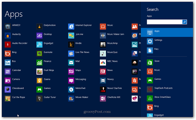All Apps in Search