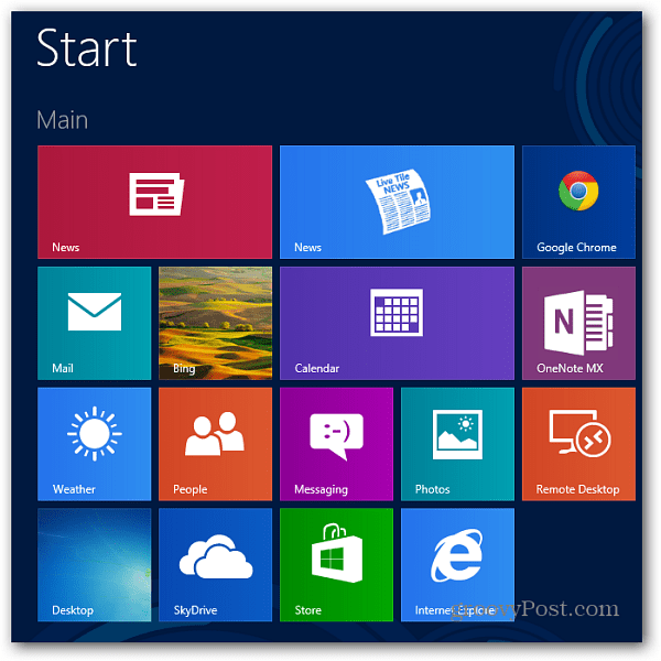 Live Tiles have notifications turned on by default Turn Off Windows 8 Live Tile Notifications