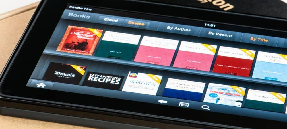 How To Access the Hidden Kindle Fire HD Camera App