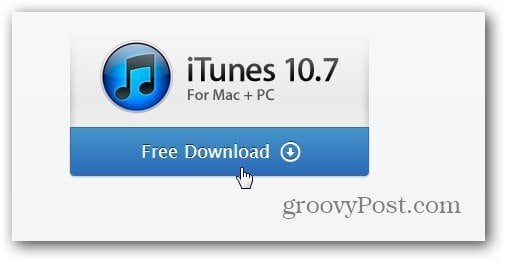 Download iTunes 10_7