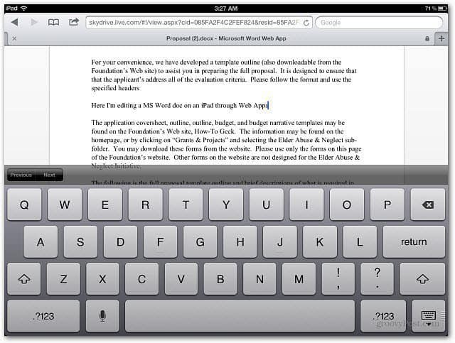Editing-Word-Document-iPad