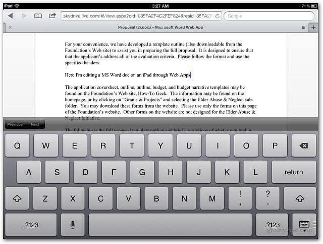 Editing-Word-Document-iPad