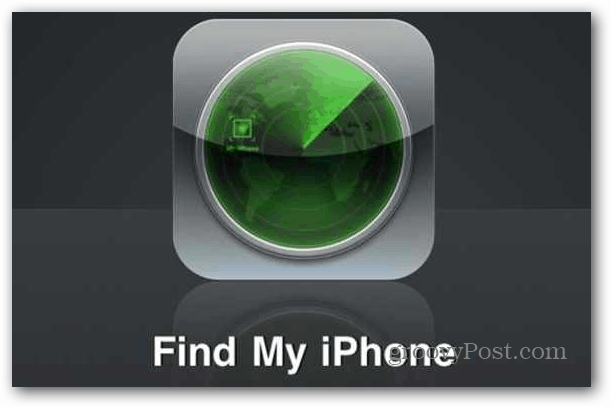 Find My iPhone iPad