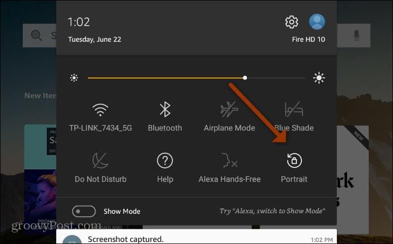Fire HD Menu Unlock