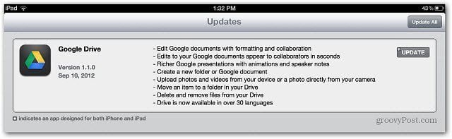 the most obvious omission was the ability to edit documents Google Drive for Android and iOS Update Includes Editing Support