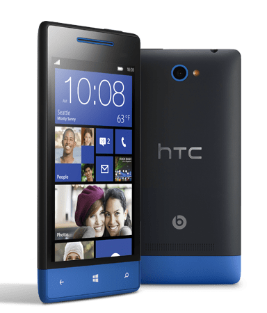 HTC Debuts Windows Phone 8X and 8S