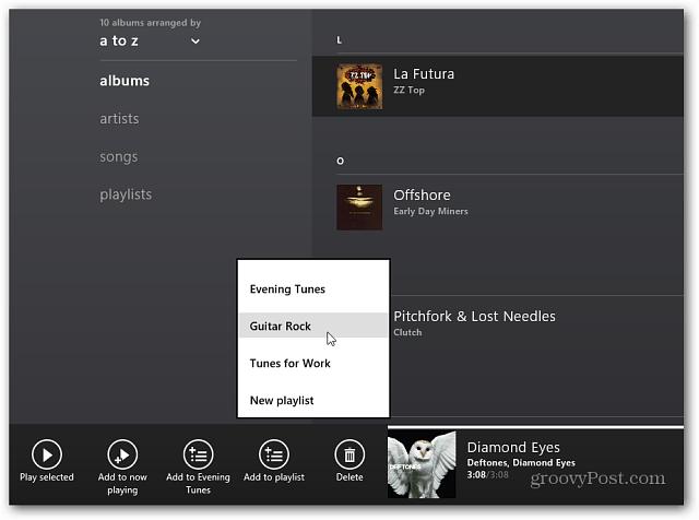 Select Playlist