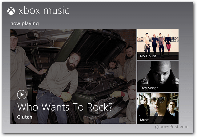 Windows 8 Xbox Music Store