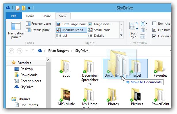 Windows 8 Drag Drop