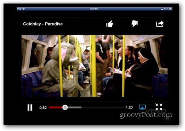 YouTube app AppleTV