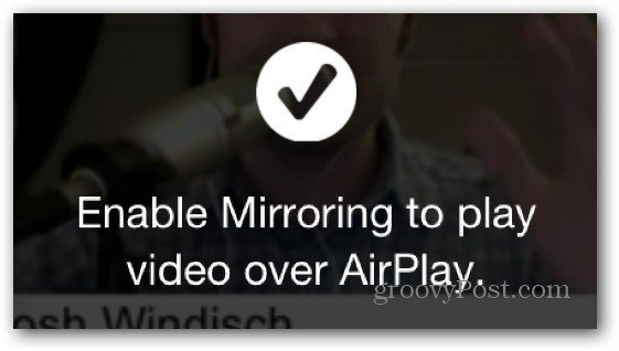 enable AirPlay