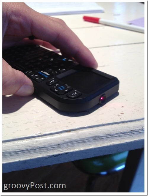which makes it great as a multimedia PC FAVI Mini Wireless Keyboard with Mouse Touchpad (FE01-BL)