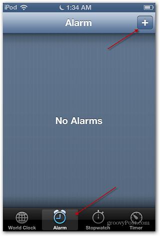 iOS 6 Alarm