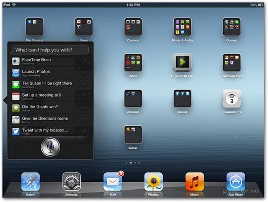 iOS 6 Update iPad 3