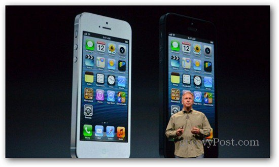 iPhone5 white and black