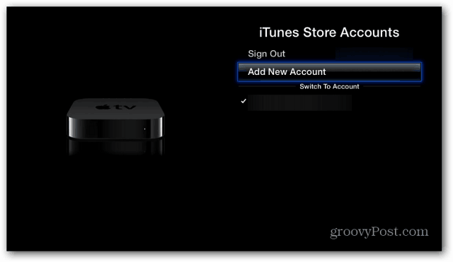 iTunes Store Accounts
