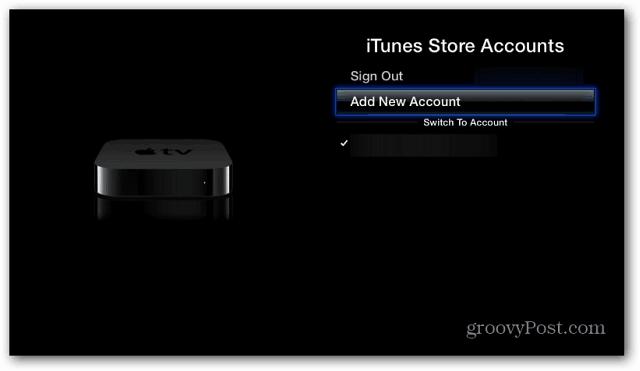 iTunes Store Accounts