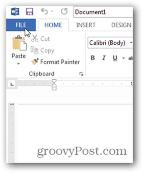 word 2013 - how to edit pdf files