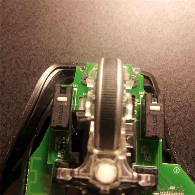 Mouse wheel not working logitech webcam