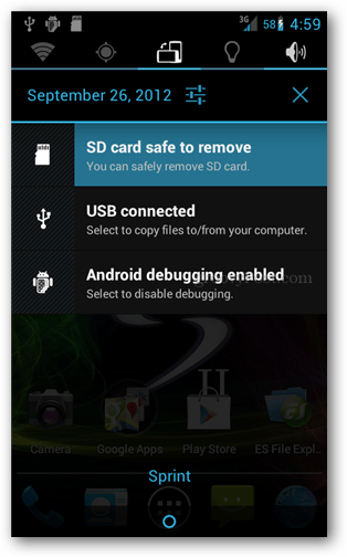 How To Un Mount An Android Sd Card Before Removing It