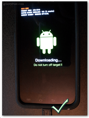 downloading do not turn off target