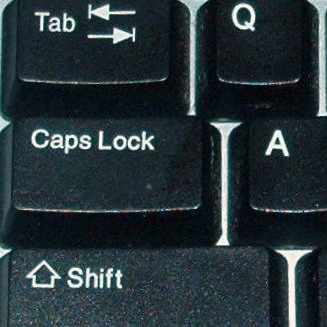How To Use The Shift Key To Disable Caps Lock