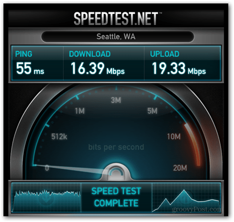 AT&T 4G LTE iPad Test in Seattle