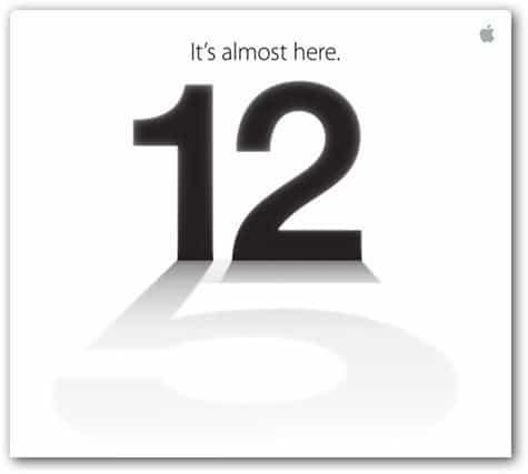 iphone 5 invite