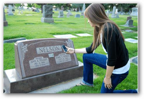 qr code memorials
