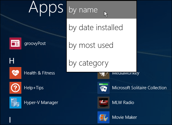 How do I get All Apps to display - Microsoft Community