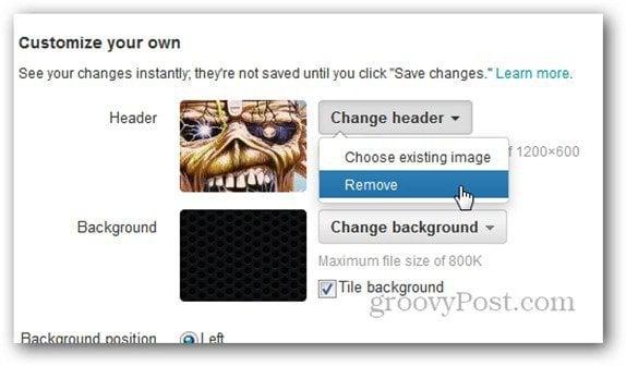 twitter header remove
