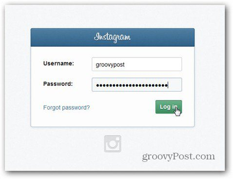 webstagram login