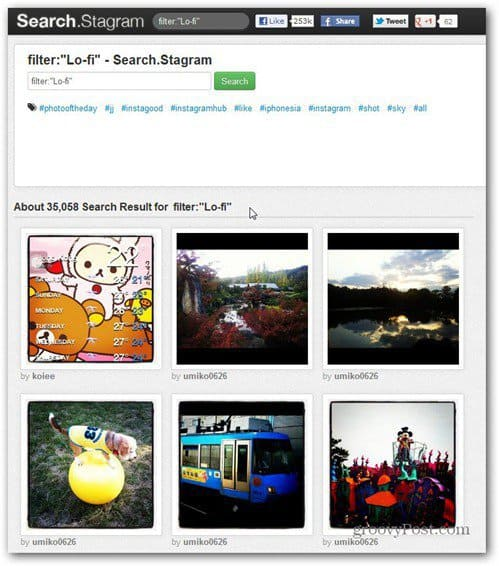 See Your Instagram Photos on Your Computer with Webstagram