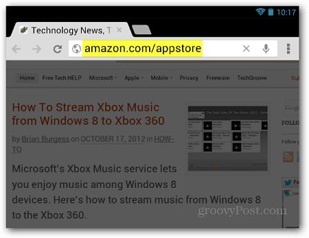 Amazon App Store URL