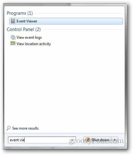 Event VIewer 1