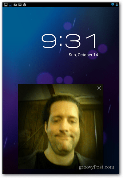 Face Unlock Nexus 7
