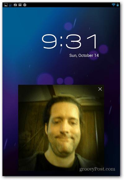 Face Unlock Nexus 7