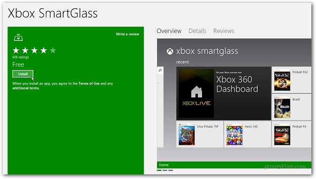 Install Xbox SmartGlass
