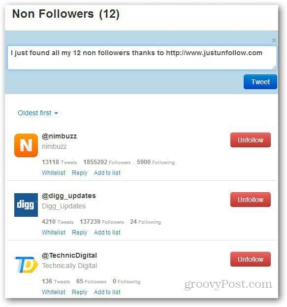 how to find who unfollowed me on twitter