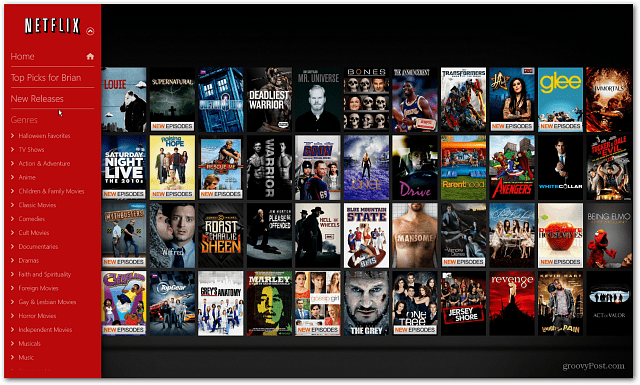 New Releases Windows 8 Netflix