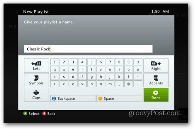 Playlist Name