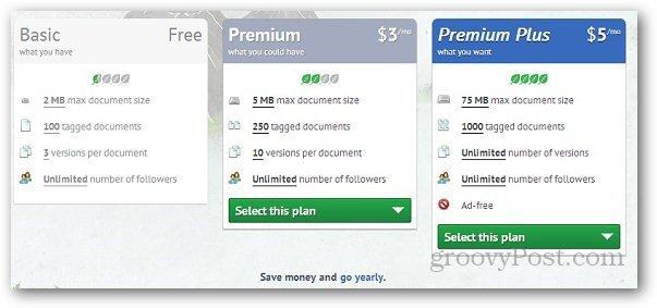 TagMyDoc Pricing