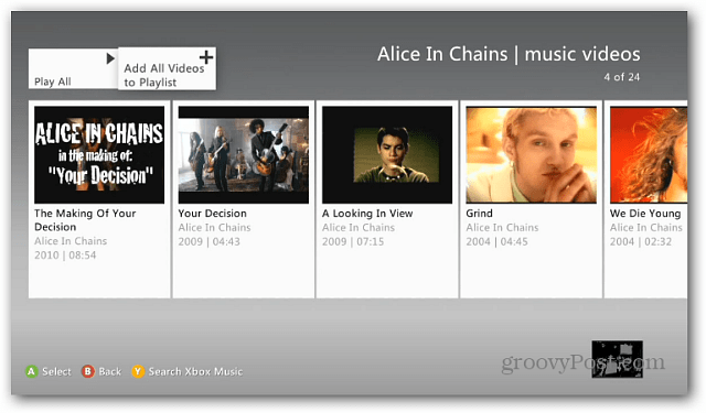 Xbox Music Playlists
