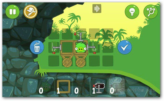 bad piggies angry birds building
