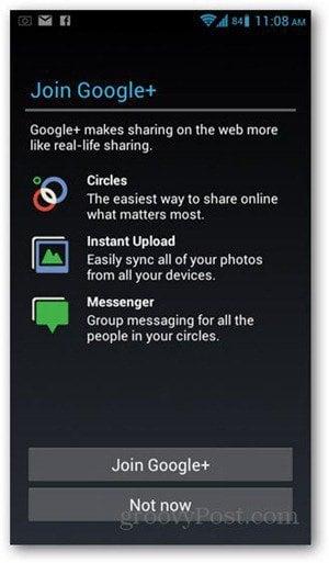 gmail google plus