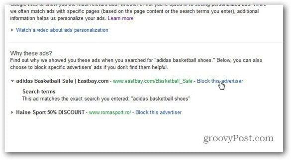 google ads block advertiser