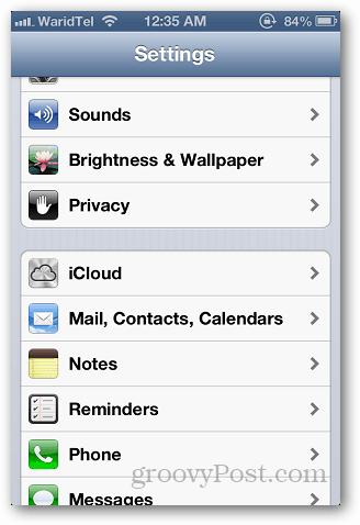 iCloud Storage 1