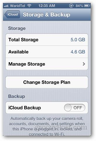 iCloud Storage 3