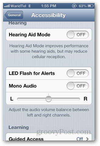 iPhone LED Alert 2